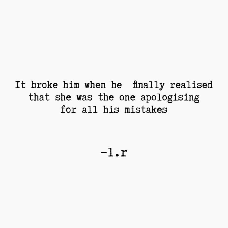 He will realize. But it will take him some time to do so.