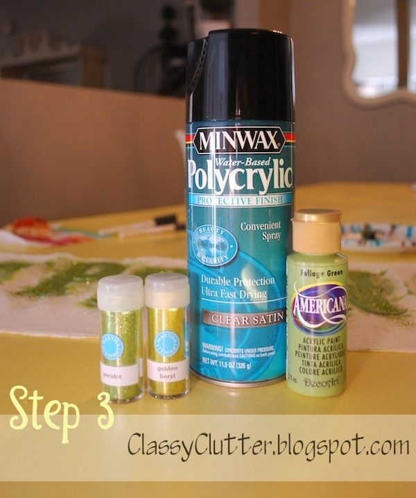 How To Seal Acrylic Paint On Glassware