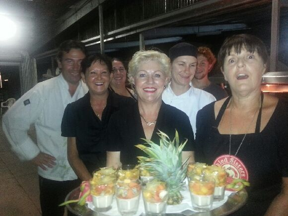 The Pickled Sisters Team at Chambers Rosewood's Spice Island Dinner