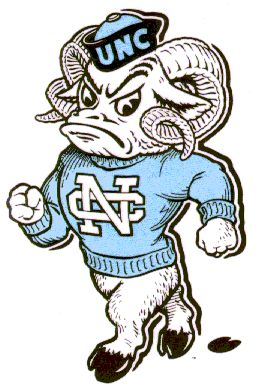 North Carolina Tar Heels  YEY !