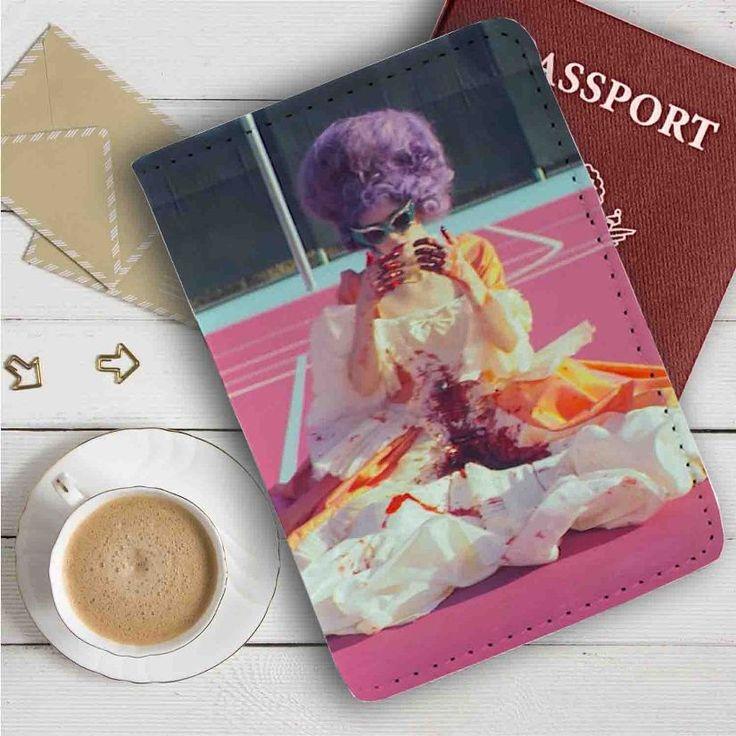 Grimes Leather Passport Wallet Case Cover