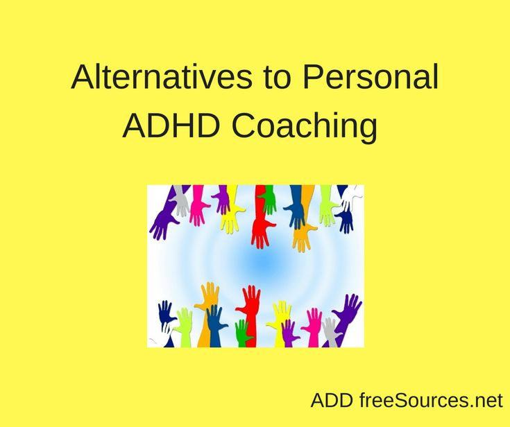 ADHD Coaching Options - ADD freeSources