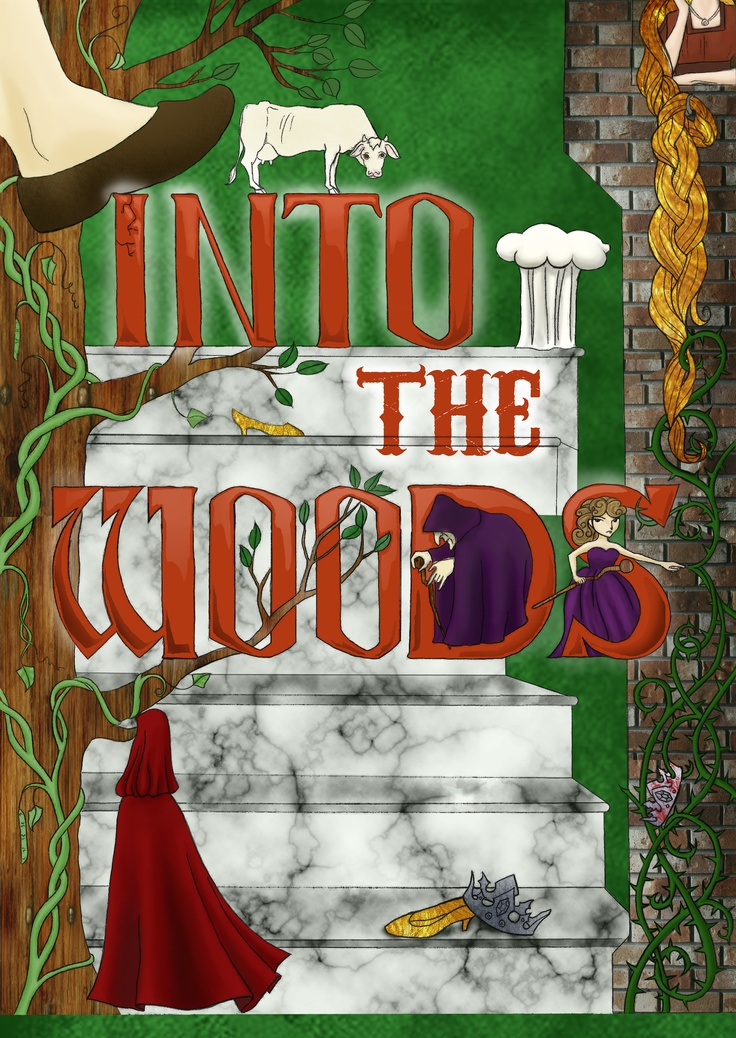 into the woods broadway musical.. I never forget this show.. I sat in fourth row and saw Vansessa Williams.. AWESOME!