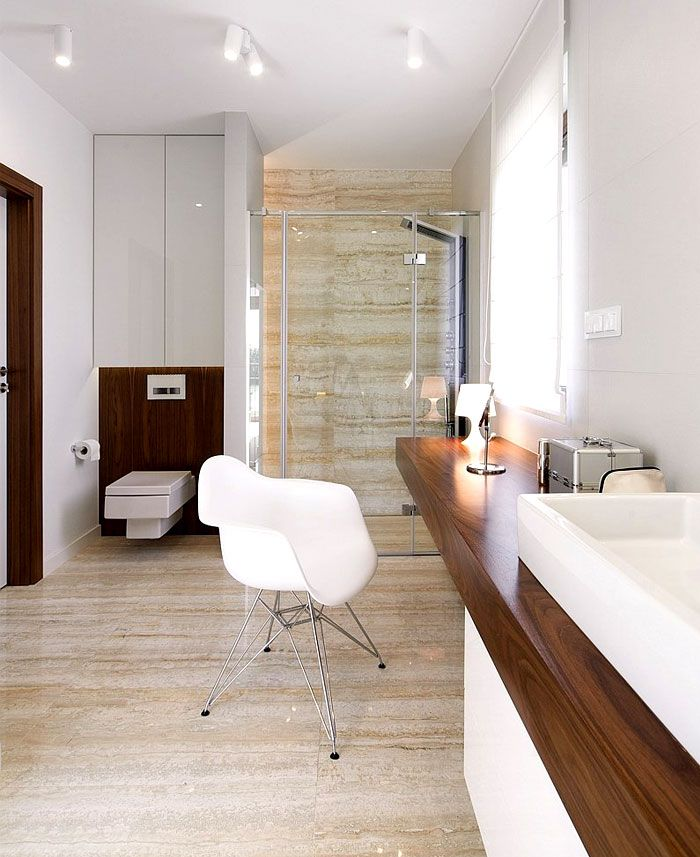 Natural Warmth Of Walnut Veneer Used In D58 House Interior