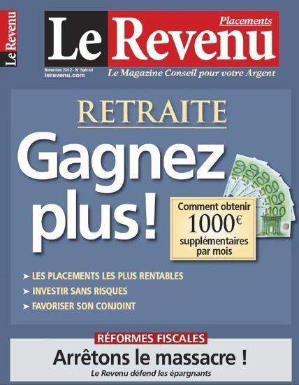 Le Revenu Placements N°189 - Novembre 2012...!!!