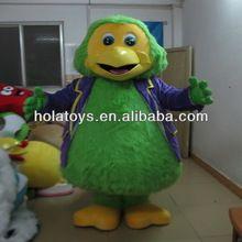 papagei maskottchen kostüm für erwachsene