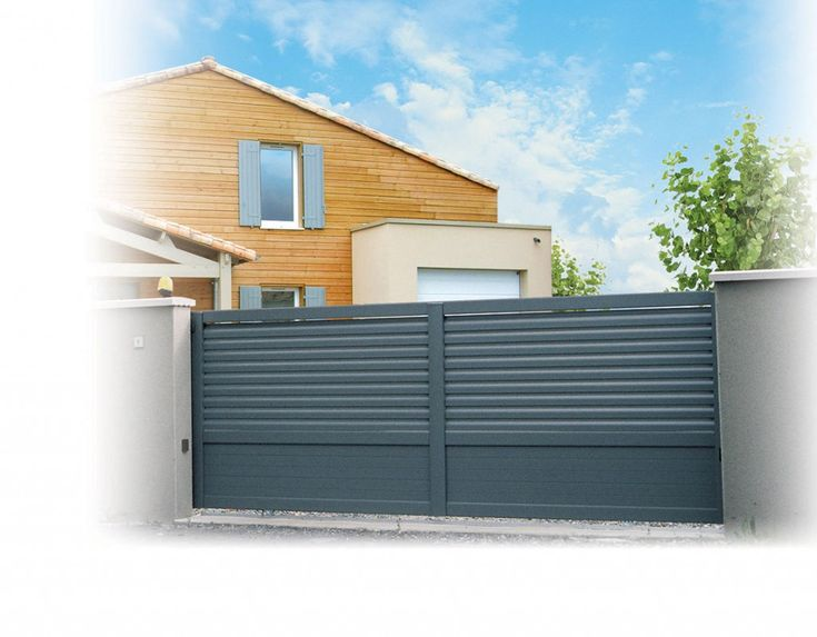 19 best portail images on Pinterest Driveway gate, Fences and