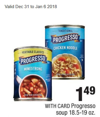 New General Mills Coupons: $.50/1 Progresso Soup & $.75/1 Totino's Pizza Rolls