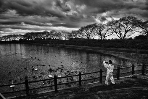 """""""Lo sguardo si addentra in un deserto silenzioso dove restano solo i relitti di una realtà congelata e di una vita che non esiste più, abbandonati nell'emergenza. I colori sono solo il bianco e il nero. Così ha scelto di lavorare il fotografo italiano Pierpaolo Mittica nel reportage che lo ha portato nella """"zona proibita"""" di Fukushima...""""  [tratto da -http://www.repubblica.it/esteri/2013/03/21/foto/fukushima_il_reportage_dalla_no_go_zone-55060528/1/#1]"""