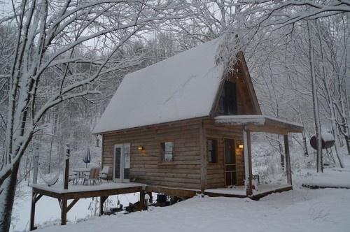 Guest Cabin 4 ridge-top style