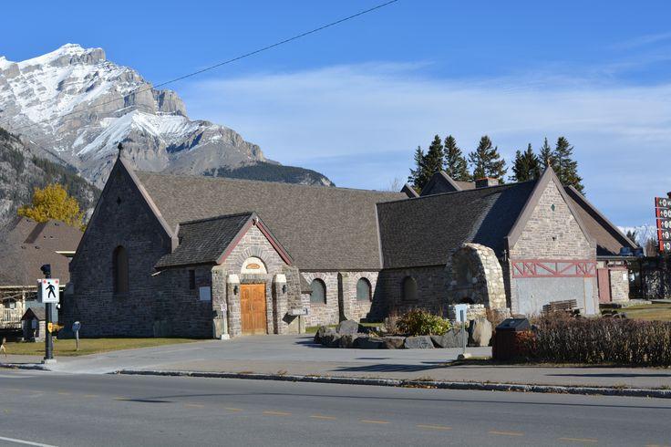 St Mary's Catholic Church Banff, Alberta