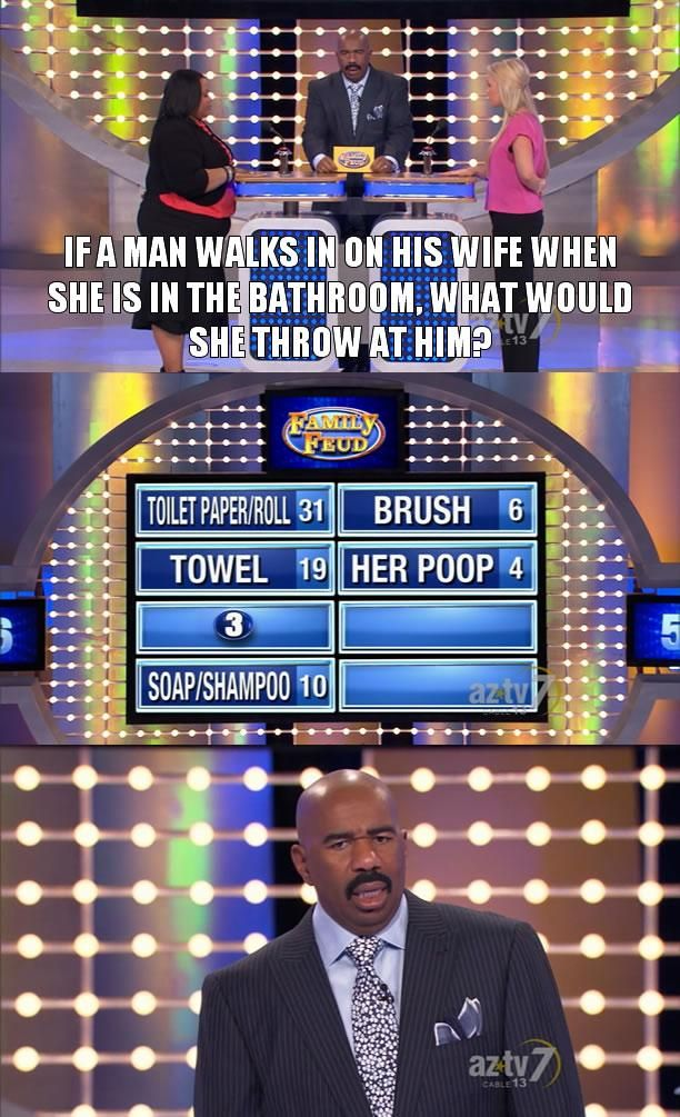 The 20 Funniest Moments From Steve Harvey's Family Feud - Don't Poke The Bear