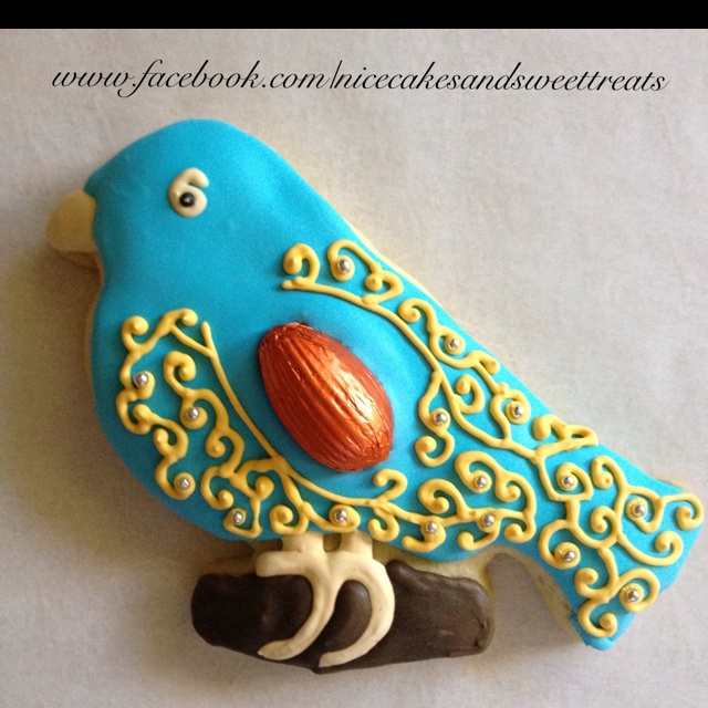 Bluebird figolli - not a cake as such, a Maltese Easter delight. These are too pretty to eat though.
