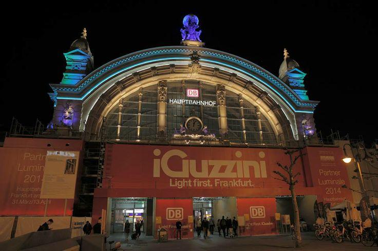 Light first. Frankfurt. #lb14 #iguzzini #Lighting #railway #station #lighting #iguzzini