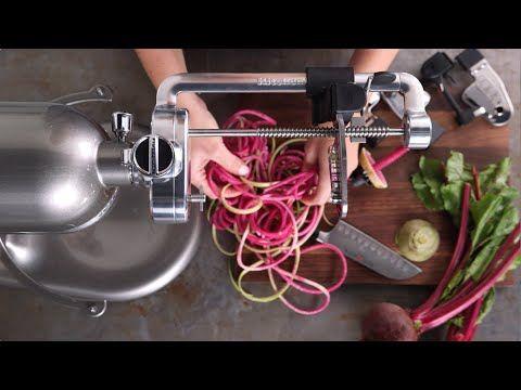 KitchenAid Spiralizer Attachment - YouTube