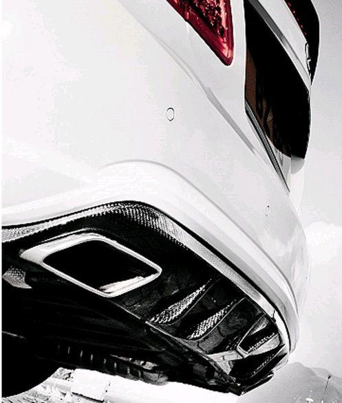RevoZport Rezonance Carbon Rear Diffuser for C207 Coupe
