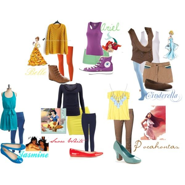 Disney Princess Modern Day Outfits | www.pixshark.com ...