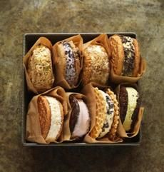 #Recipe for ice cream sandwiches you make at home