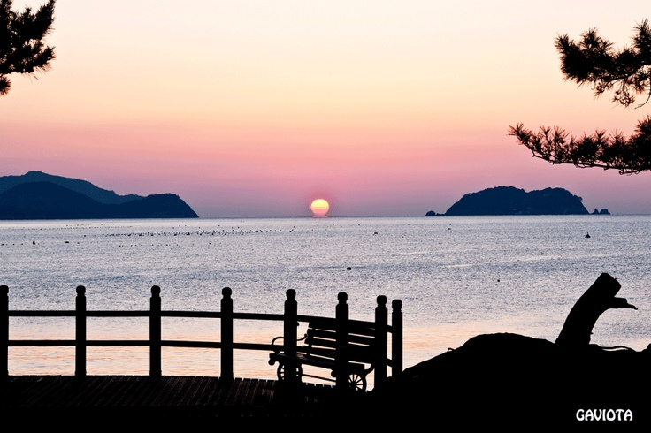 Sunset on Geoje Island