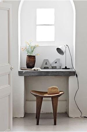 Bureau  in kleine ruimte