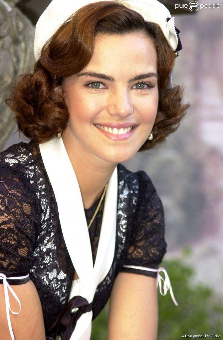 Na novela 'Esperança', de 2007, Ana Paula Arósio viveu a judia Camille
