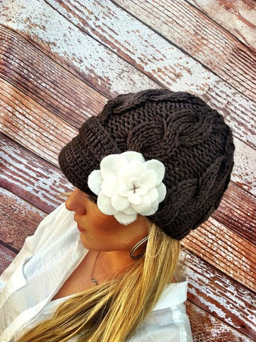 Love this hat for fall!