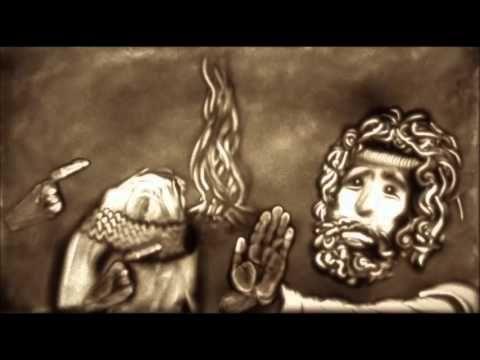 Paasverhaal met de zandtovenaar! Pasen in 7 delen