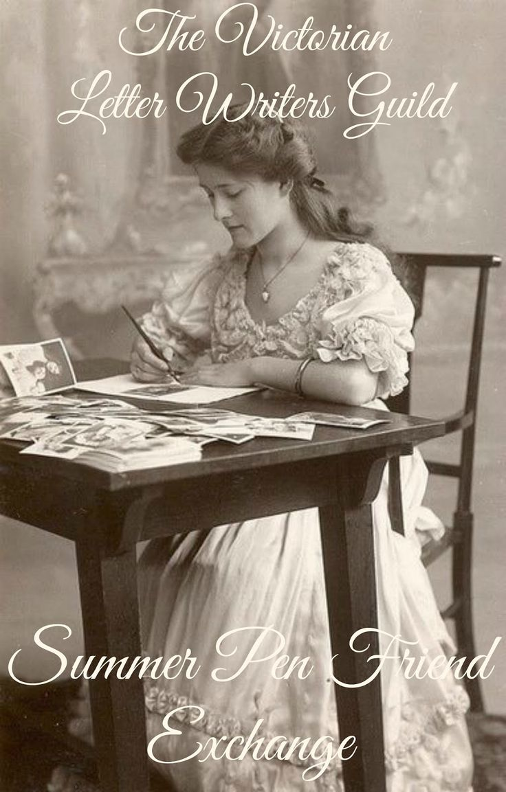It's time to kick off the Summer Pen Friend Exchange!If you enjoy handwritten correspondence with like-minded women, The Victorian Letter Writers Guild may be for you! #penfriend #letterwriter #Victorian