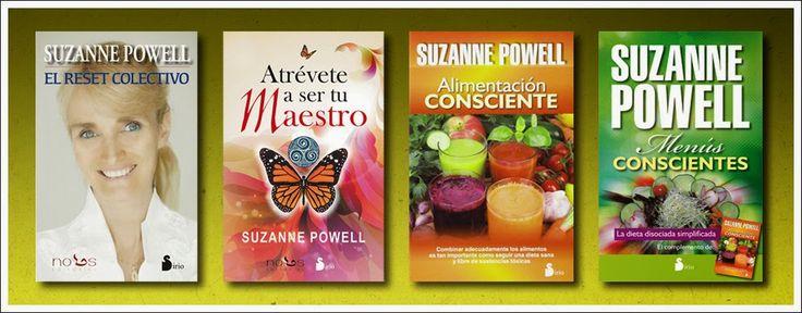 """SUZANNE POWELL : Presentaciones del nuevo libro """"Menús Conscientes"""" de Suzanne Powell: Editorial Sirio....con algunos cambios para Barcelona"""