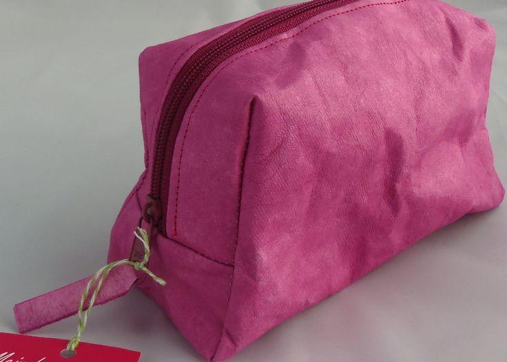 Kosmetiktasche+SnapPap+pink+von+Mein+buntes+Haus+auf+DaWanda.com