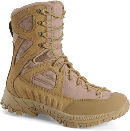 "CORCORAN&MATTERHORN > 8"" Lace To Toe Waterproof Tactical All Terrain Hiker, Desert Tan"