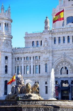 Madrid, Spain, Cybele's Fountain