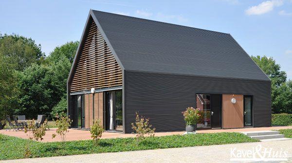 Lofthome huis bouwen woonconcepts geinspireerd door loft en boerenschuur house search and doors - Landscaping modern huis ...