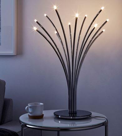 Awesome IKEA Deutschland HOVN S Tischleuchte Wenn die leuchtenden glitzernden Lichtpunkte der Leuchte im Dunkeln