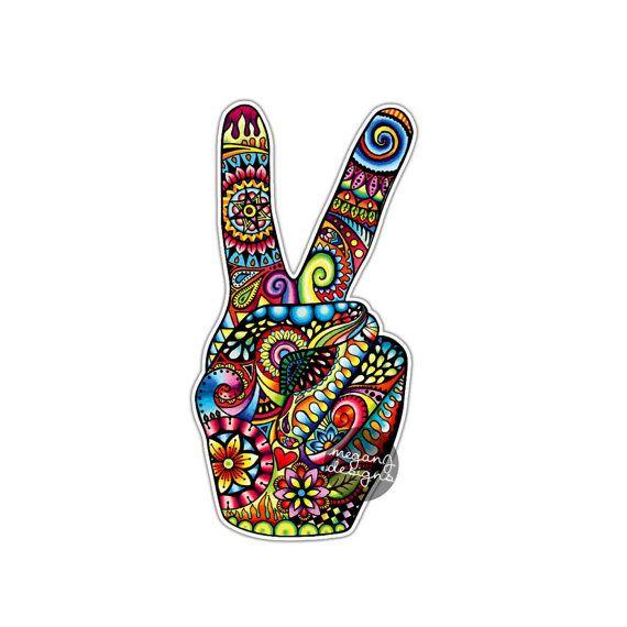 peace zeichen hand