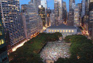NYC Outdoor Movie Calendar 2015 - Free Summer Film Screenings New York