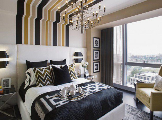 20 Trendy Bedrooms With Striped Accent Walls: 1000+ Ideas About Striped Accent Walls On Pinterest