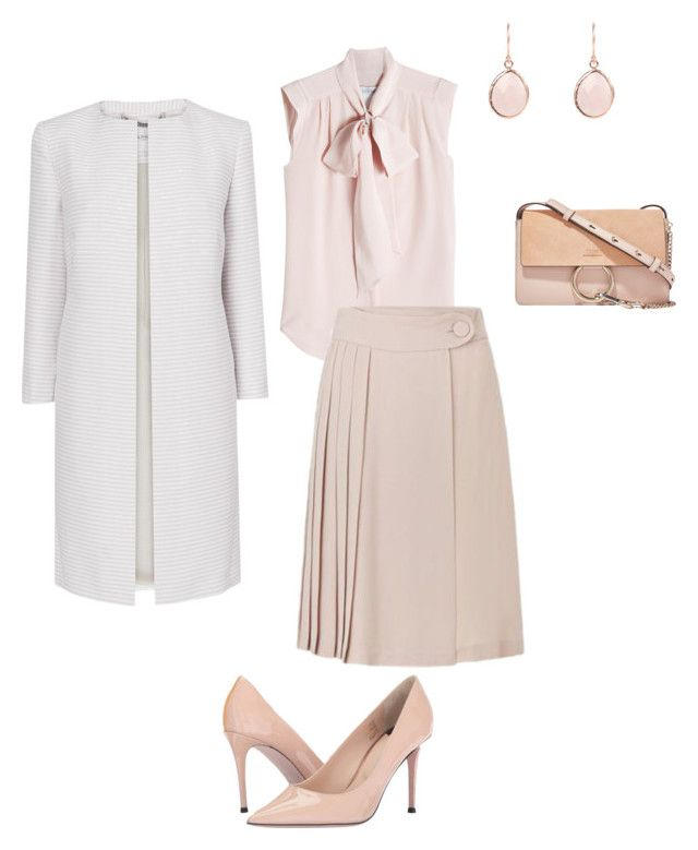 """Work"" by cgraham1 on Polyvore featuring MaxMara, Chloé, Paul Smith, Tara Jarmon and L.K.Bennett"