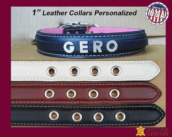 Bling Dog Collars - Dog Collar with Name - Luxury Dog Collar - Custom Made Dog…