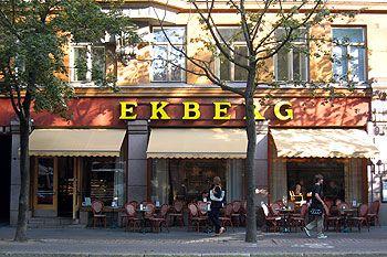 Café Ekberg on Bulevardi in Helsinki