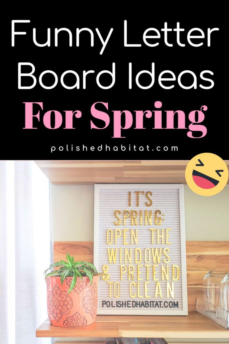 Felt letter board ideas about love, perfect for Spring. Get a mix of 17 funny and inspirational quotes for your message …