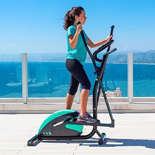 La Bicicleta Elíptica tiene grandes beneficios que hacen de su utilización continuada un entrenamiento extraordinario. Posiblemente sea la máquina utilizada en el fitness más completa que podemos encontrar, permite optimizar tu estado físico, trabajar quemando grasas al mismo tiempo que estarás t... http://gimnasioynutricion.com/tienda/bicicletas/elipticas/bicicleta-eliptica-eliptic-fit-de-cecotec-sistema-frenado-magnetico-volante-inercia-6-kg-8-niveles-resistencia-puls