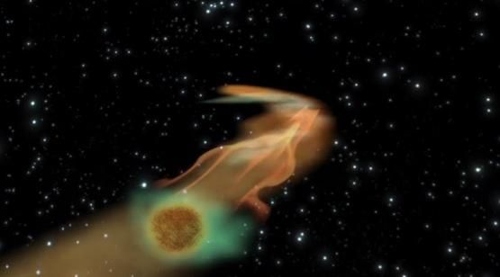 Astronomers Watch as a Black Hole Eats a Rogue Planet (via Universe Today)