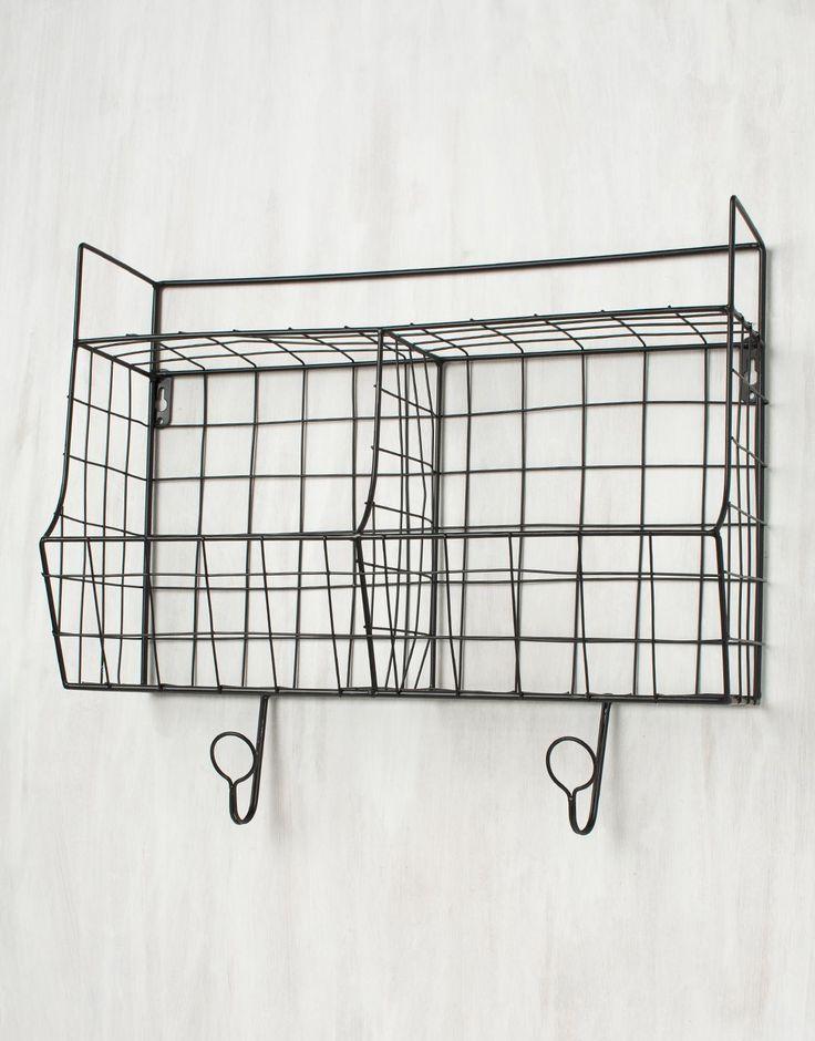 MESH SHELF hylla svart | Shelf/brackets | Hyllor & Konsoller | Hall & Förvaring | Home | INDISKA Shop Online
