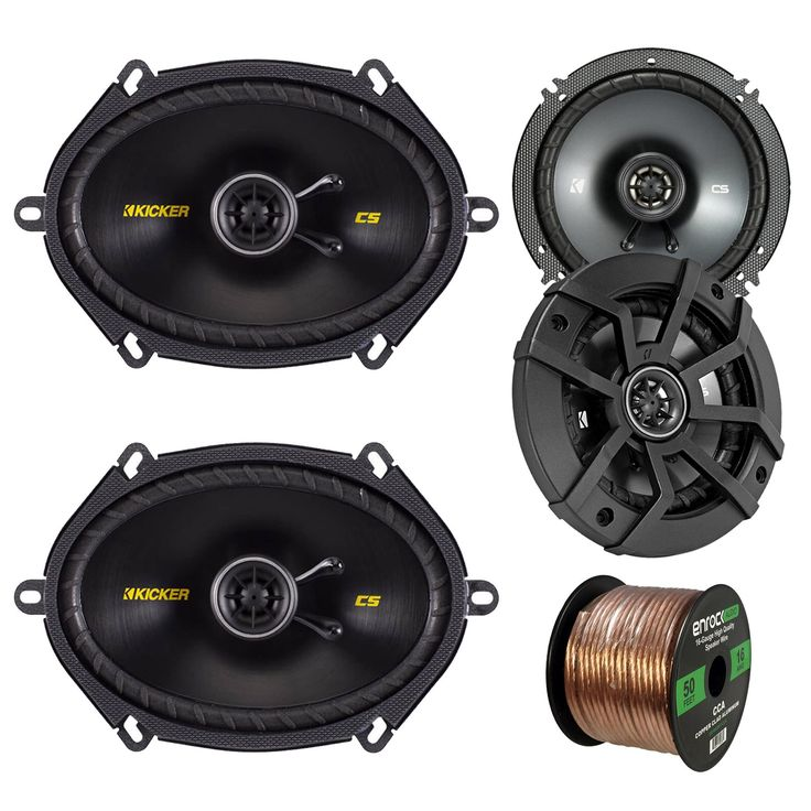 17 best ideas about kicker car audio kenwood car car speaker set combo of 2 kicker 40cs654 6 5 600w 2 way cs
