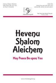Hevenu Shalom Aleichem (May Peace Be Upon You).  I like this one for Winter Program.  Upbeat and fun.