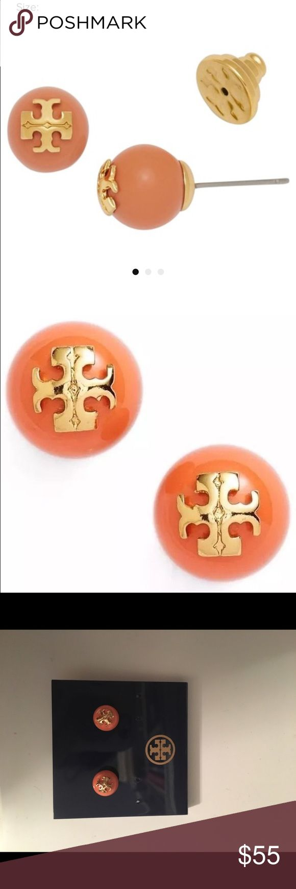 Authentic Tory butch studs Beautiful and brand new Tory Burch Jewelry Earrings