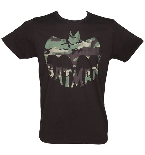 Junk Food Mens Black Camouflage Batman T-Shirt from Another amazing Batman T-shirt from Junk Food! This time - with something every Super Hero needs...camouflage! Allowing you to go incognito in style, this awesome tee is sure to get nods of appreciati http://www.comparestoreprices.co.uk//junk-food-mens-black-camouflage-batman-t-shirt-from.asp
