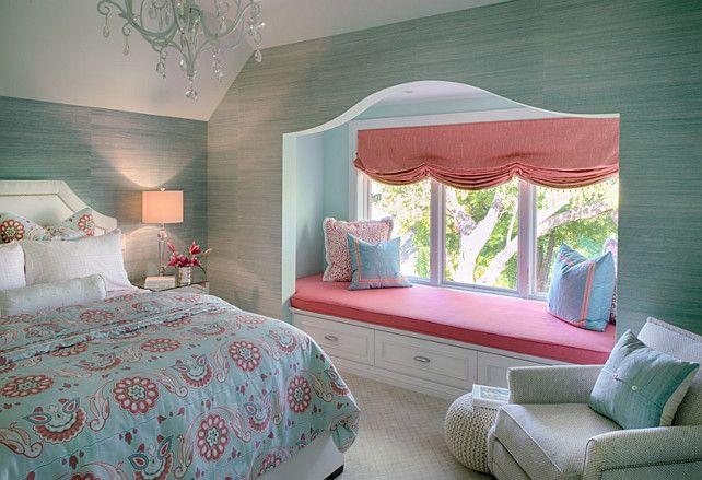 Slaapkamer Ideeen Turquoise : Turquoise Interior Decorating Ideas