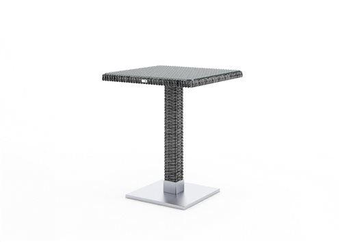 quadro stol 60x60x72 cm z umeleho ratanu seda  2